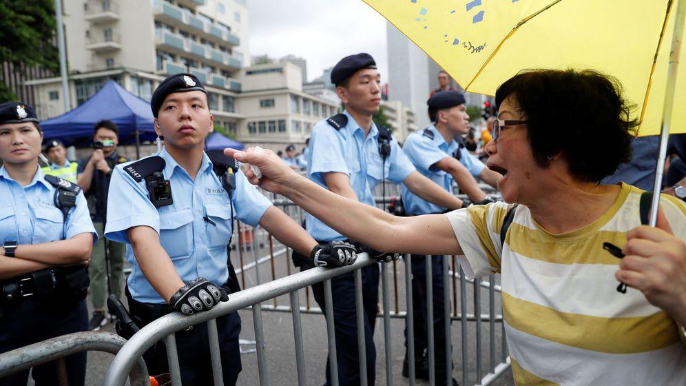 Foto: Protestas en Hong Kong contra la ley de extradición. (Reuters)