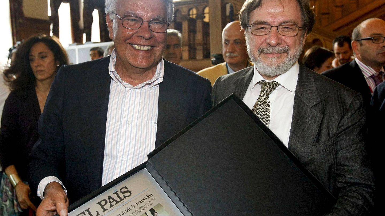 Felipe González y Juan Luis Cebrián (EFE)