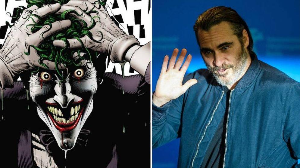 Foto: Joaquin Phoenix será el nuevo 'Joker' en la historia del origen del villano de Batman