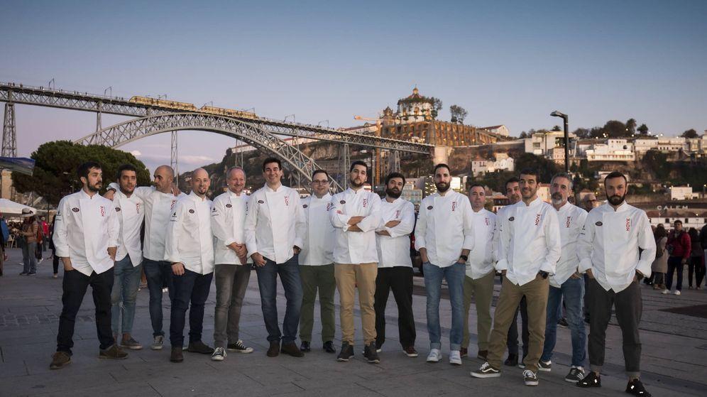 Foto: Los cocineros de Nave Nove en Oporto. (Cortesía)