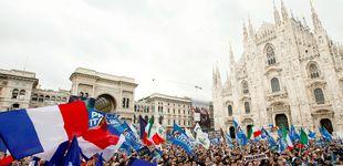 Post de Salvini, con Le Pen y Wilders: