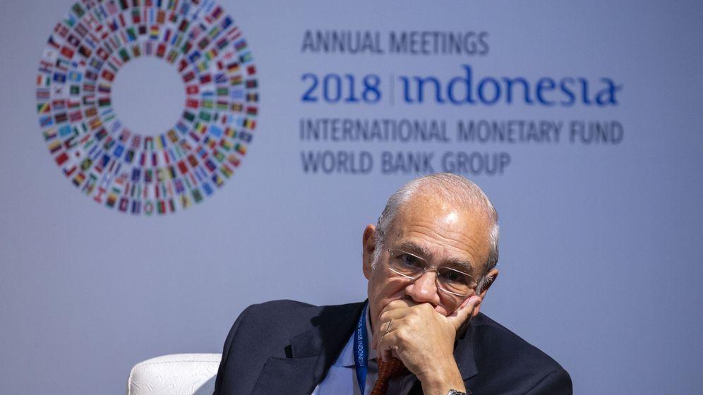 Foto: El secretario general de la OCDE, José Ángel Gurria (Efe)
