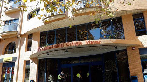 Disuelven una fiesta con más de 200 personas en el Colegio Mayor Galileo Galilei de Valencia