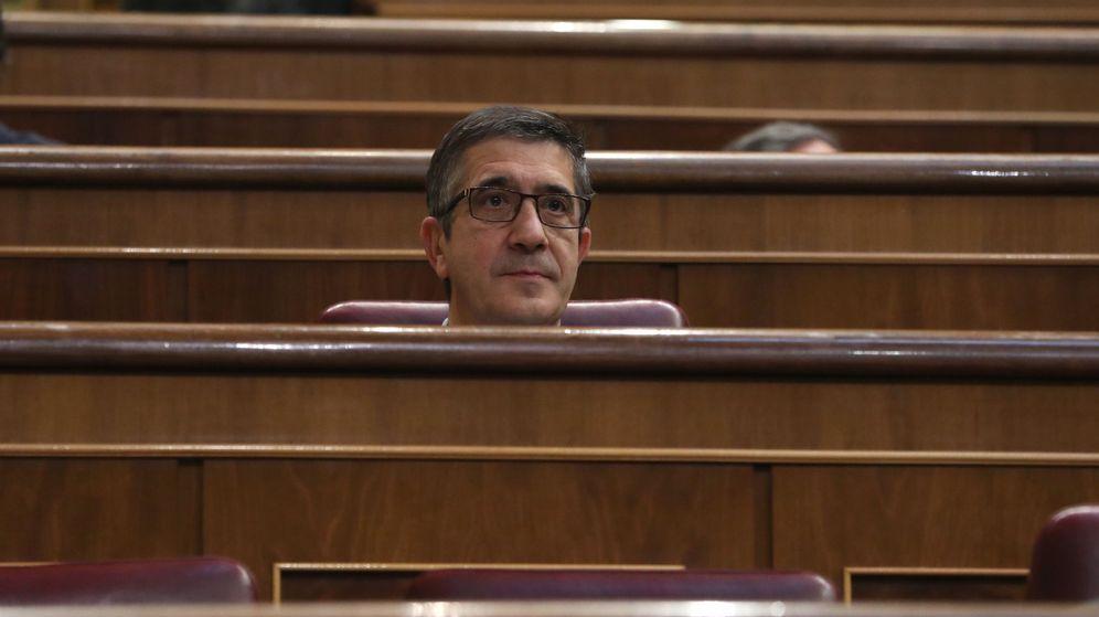 Foto:  El diputado socialista Patxi López (EFE)