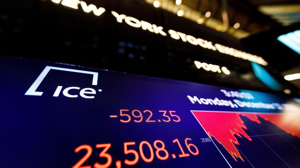 Foto: Foto de archivo de las pérdidas en Wall Street. (EFE)