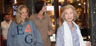 Post de Irene Urdangarin y su sudadera vintage 'made in Barcelona', una herencia familiar