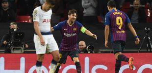 Post de FC Barcelona - Tottenham: horario y dónde ver en TV y 'online' la Champions