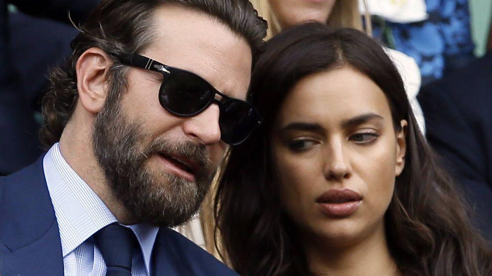 Bradley Cooper e Irina Shayk dan el espectáculo con su pelea en Wimbledon