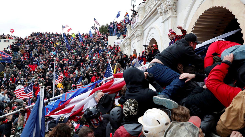 El presidente estadounidense es acusado de incitar a la violencia contra el Gobierno de su propio país. Foto: Reuters
