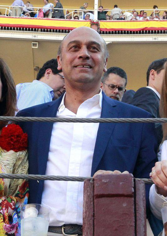 Foto: El empresario Juan Muñoz, en Las Ventas. (EFE)
