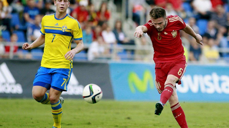 La presencia del 'absoluto' Saúl indica lo mucho que se juega la Sub 21 en Suecia