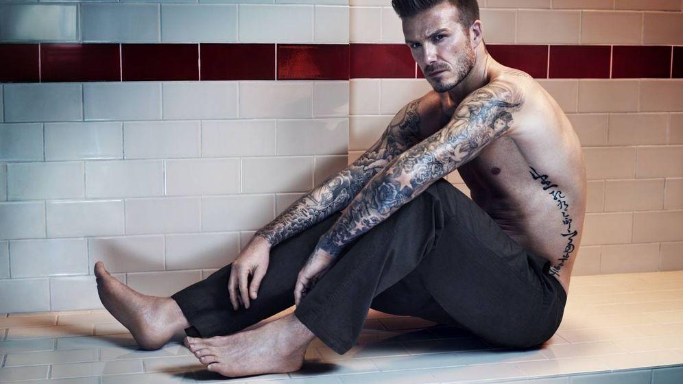 Foto: David Beckham en un anuncio para Bodywear de H&M.