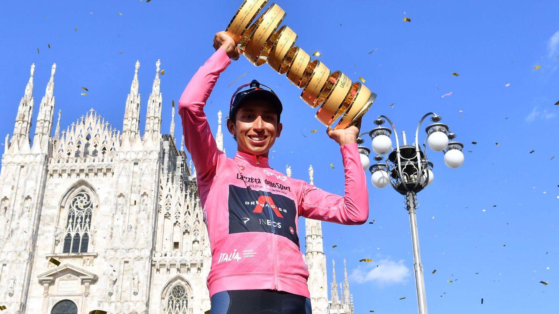 La crono bendice a un Egan Bernal victorioso en el Giro de Italia