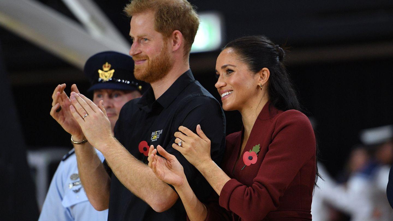 Harry y Meghan, en 2018. (EFE)