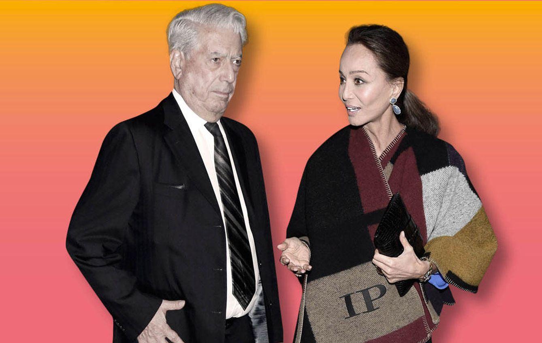 Foto: Mario Vargas Llosa e Isabel Preysler en un fotomontaje realizado en Vanitatis