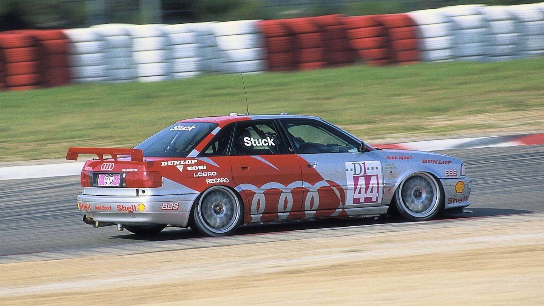 El Audi 80 Quattro dominó varios años en las competiciones de Turismos, al igual que haría después su sucesor, el A4 Quattro.