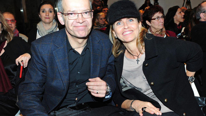Los padres de Gerard Piqué, en una presentación en Barcelona.