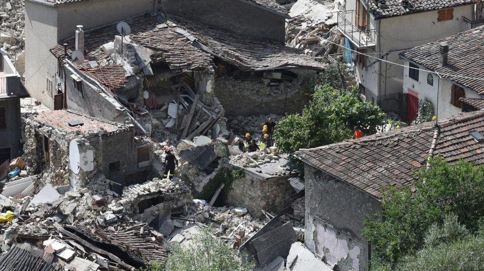 Foto: Al menos 63 muertos por un terremoto en el centro de Italia (EFE)