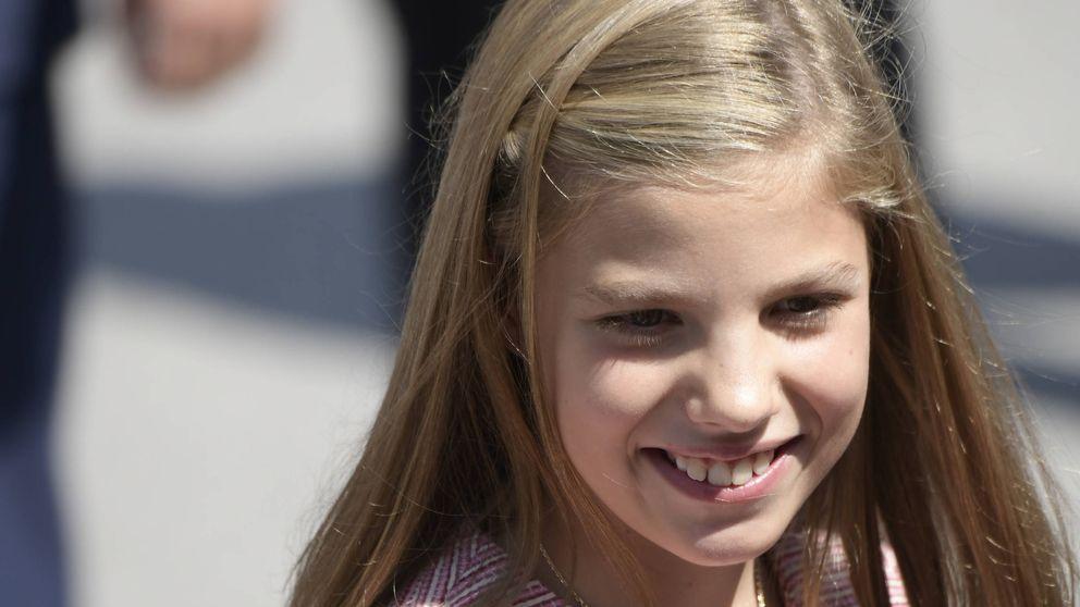 La infanta Sofía no ha quedado en segundo plano en Asturias