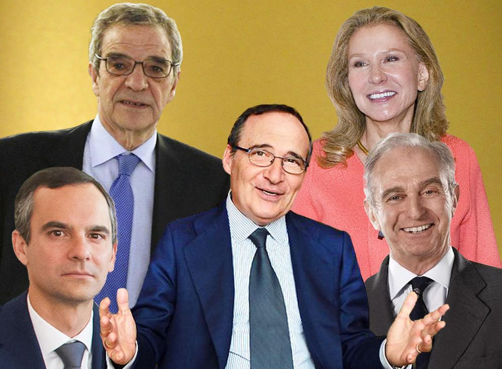 Foto: Algunos de los rostros que acumulan grandes fortunas