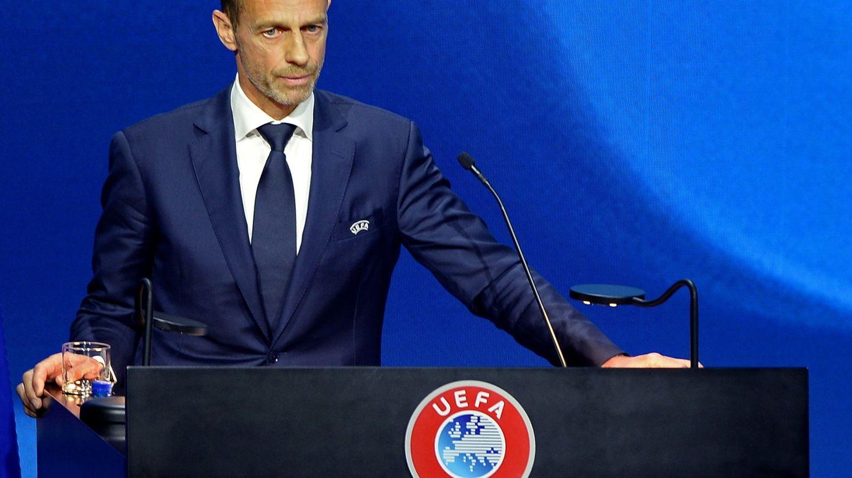 Aleksander Ceferin, presidente de la UEFA. (Efe)