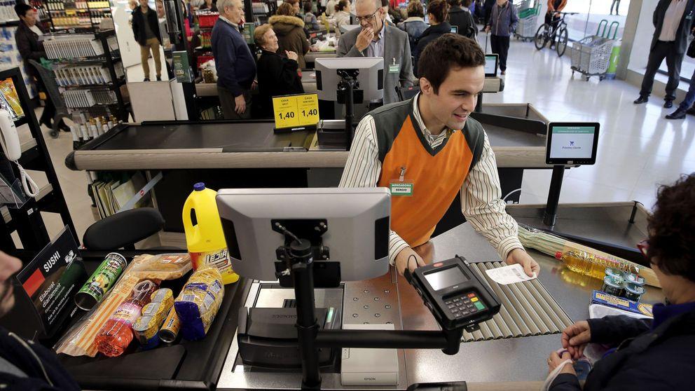 Mercadona ya tiene casi la misma cuota que Carrefour, DIA, Eroski y Alcampo juntos