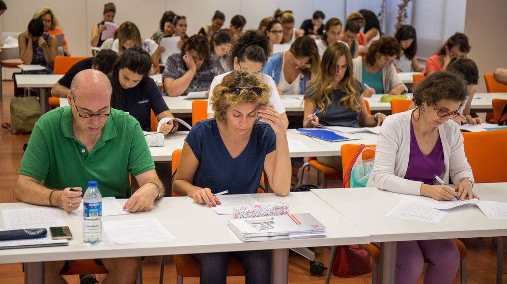 Foto: España vive una explosión de aspirantes a funcionario gracias a la convocatoria masiva de plazas. (David Brunat)