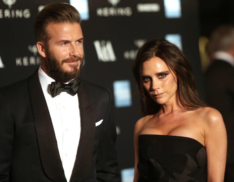 Foto: Los Beckham en una imagen de archivo (Gtres)
