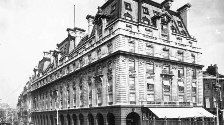 El Ritz de Londres en 1912. (Getty)