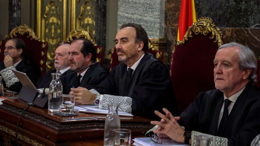 Foto: Manuel Marchena preside el tribunal del juicio del 'procés'. (EFE)