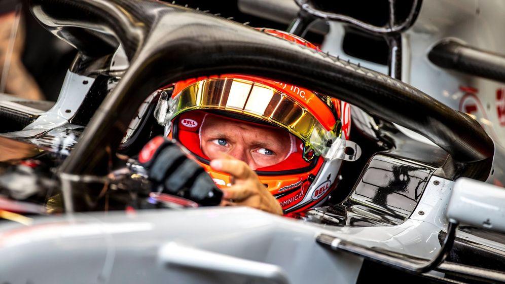 Foto: Gasly y Magnussen protagonizaron uno de los momentos más tensos del GP de Azerbaiyán (EFE)