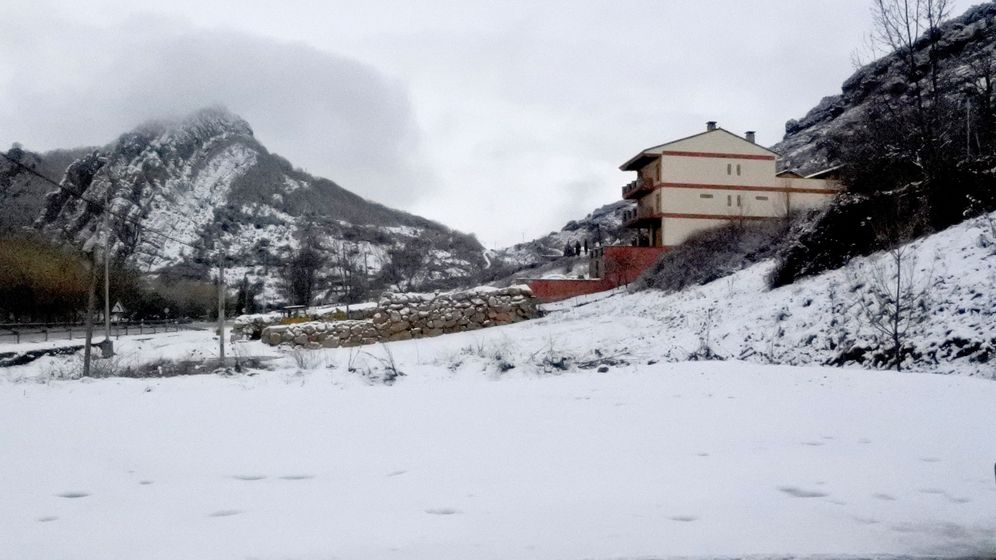 Foto: Temporal de nieve en toda España. (EFE)