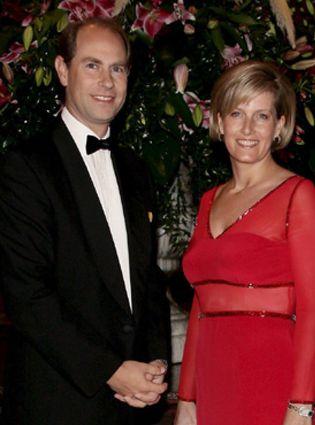 Foto: La condesa de Wessex y el Príncipe Eduardo esperan su segundo hijo