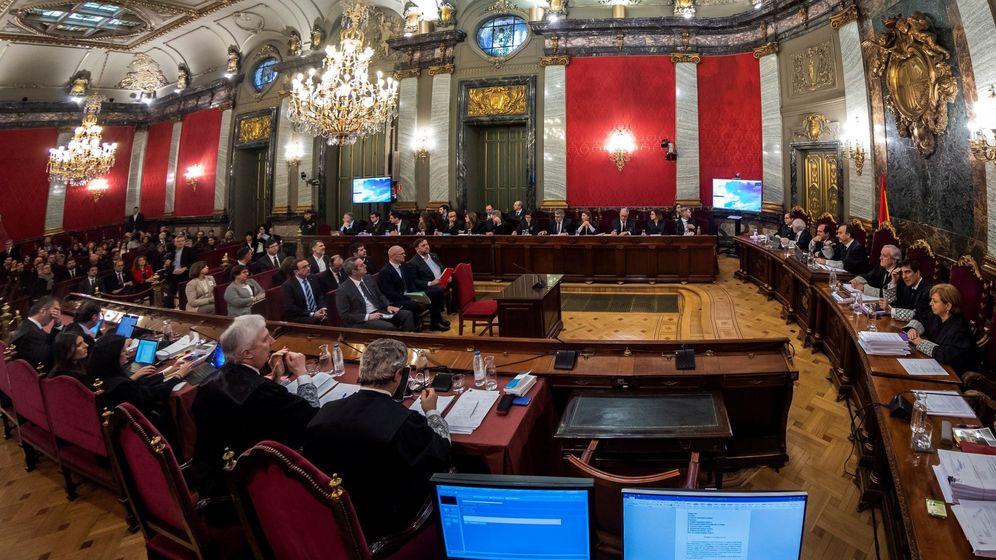 Foto: Foto de la sala del juicio. (EFE)