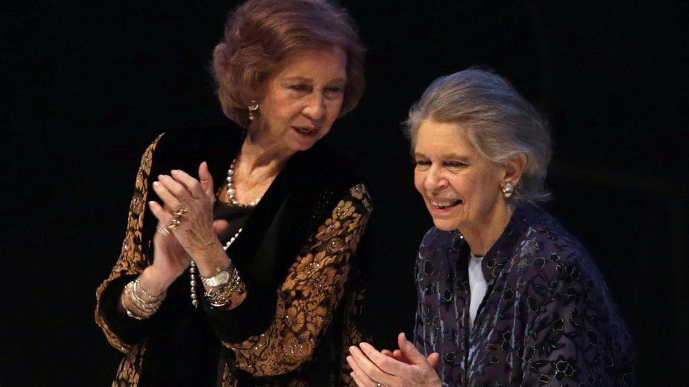 La triple aclamación a la Reina Sofía
