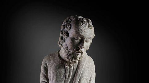 Con piedra y cincel: el Maestro Mateo instala su taller en el Prado