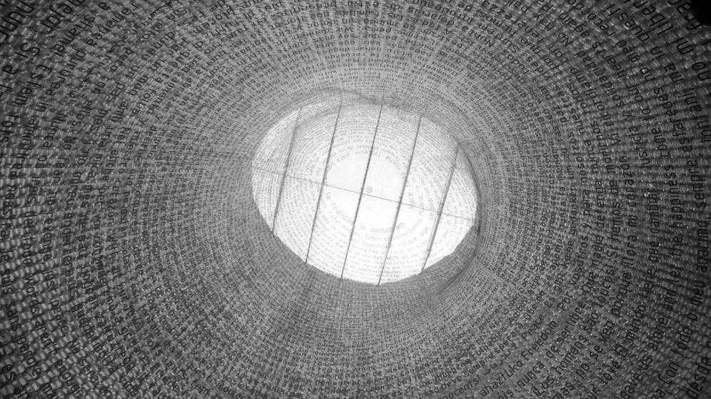 Foto: Imagen del interior del Monumento a las Víctimas del 11M