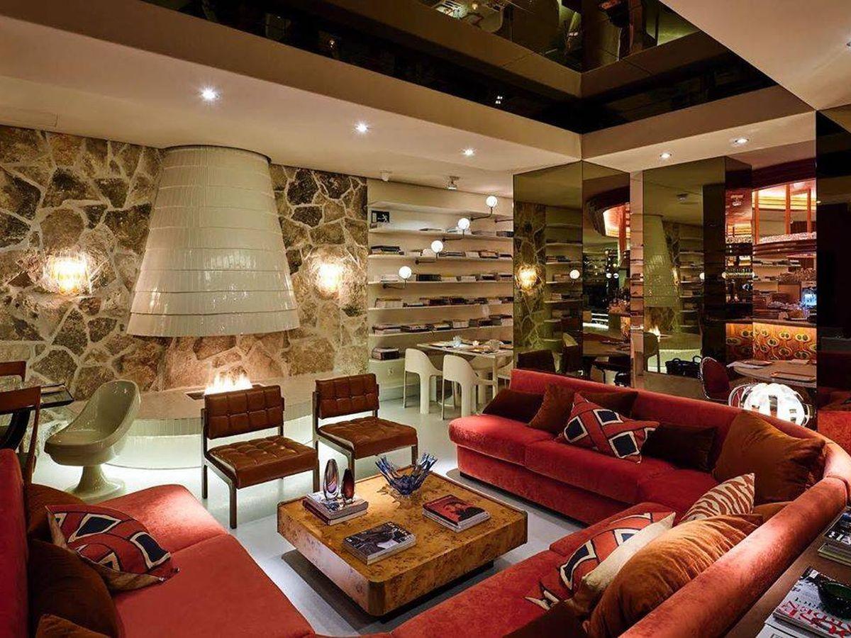 Foto: Una de las imágenes del interior de Le Club Sushita. (Instagram)