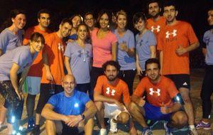Pedroche celebra su 26 cumpleaños con una quedada 'running'