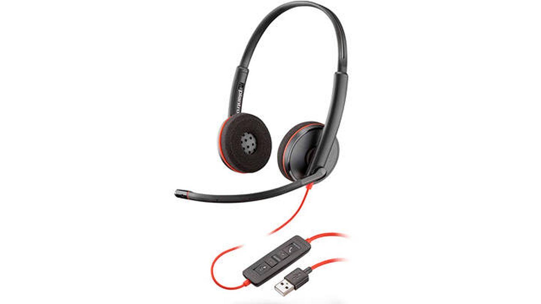 Auriculares Blackwire 3220 Plantronics con alta calidad de audio