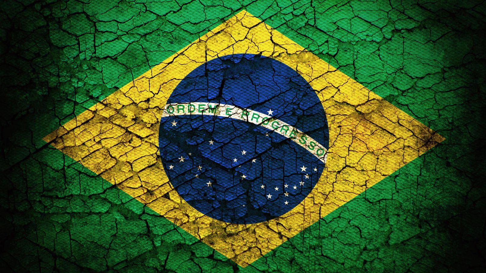 Foto: Imagen de la bandera de Brasil.