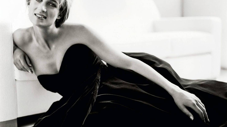 La princesa Diana de Gales fotografiada por Mario Testino.