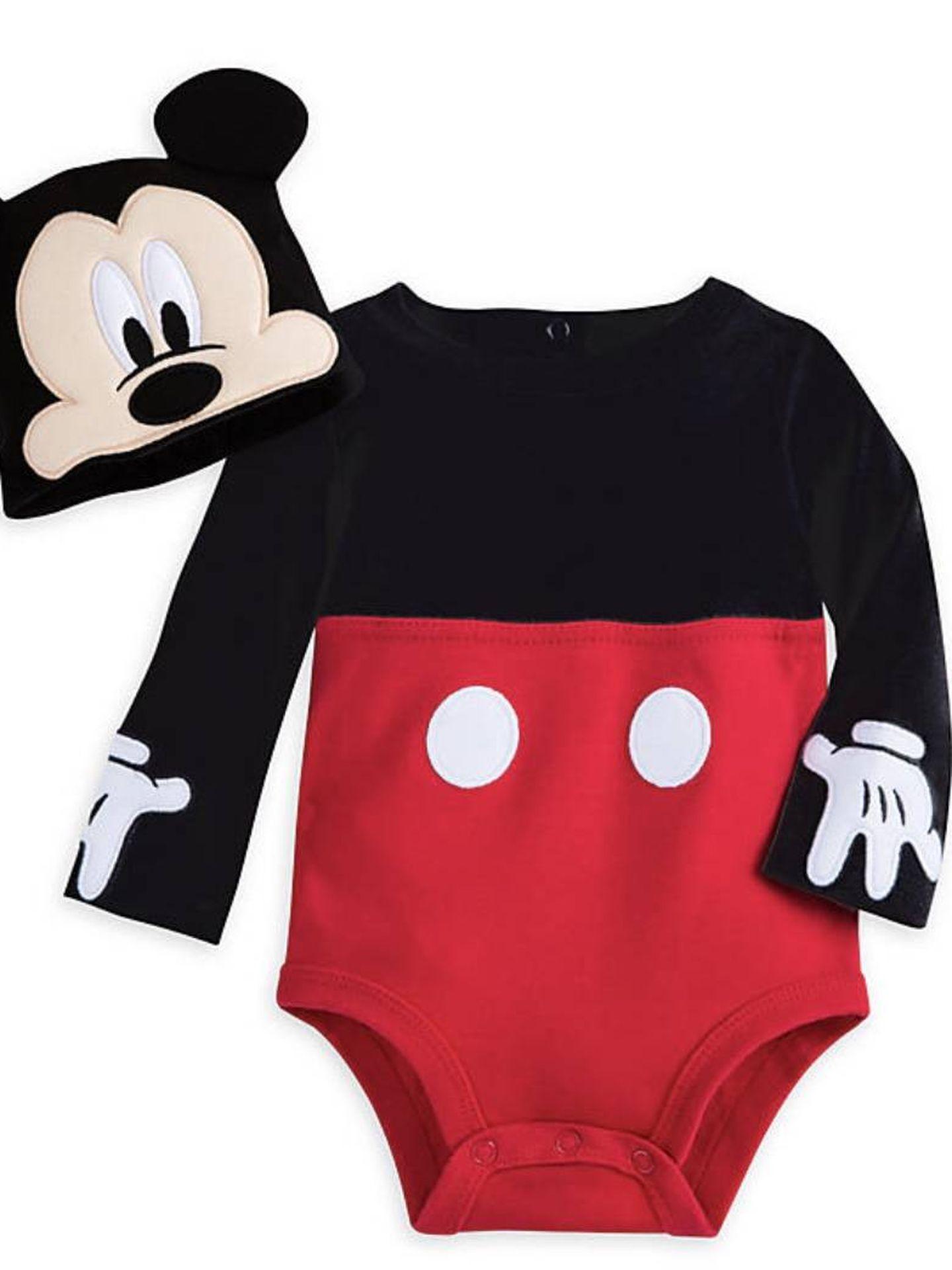 Para los más pequeños, disfraz de Mickey Mouse de Disney Store (14,70 euros).