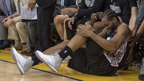 La jugada que puede acabar con las opciones de la final de los Spurs