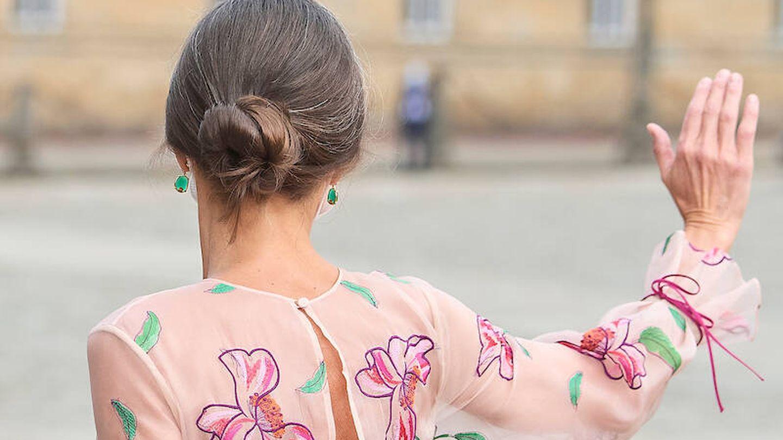 El peinado de la reina Letizia. (Limited Pictures)