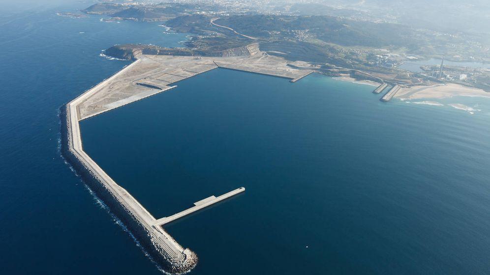 Foto: Puerto exterior de Suevos, A Coruña. (Min.Exterior)