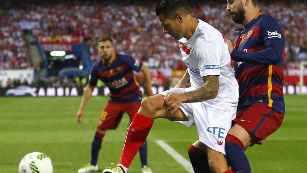 Telecinco barre con la final de la Copa del Rey entre el Barça y el Sevilla