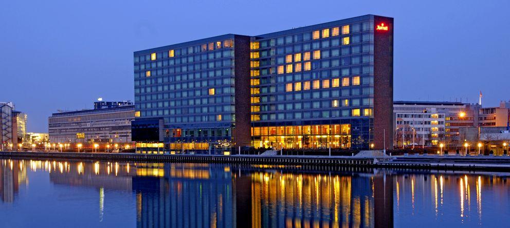 Foto: El hotel Marriot en el centro de Copenhague, donde se ha celebrado la reunión anual de Bilderberg. (Marriot)