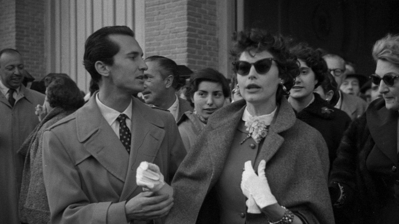Ava Gardner y Luis Miguel Dominguín.  (Fondo fotográfico Martín Santos Yubero. Archivo Regional de la Comunidad de Madrid)