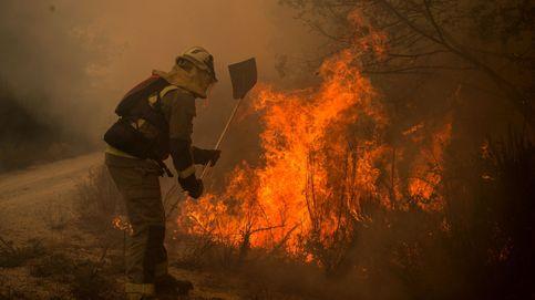 El fuego arrasa más de 2.000 hectáreas en nueve incendios activos en Ourense